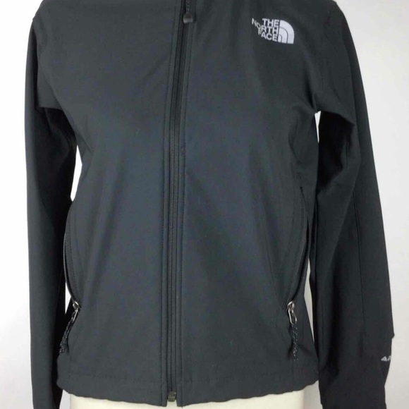 The North Face Jackets & Blazers - The North Face Charcoal Polyester Long Sleeve